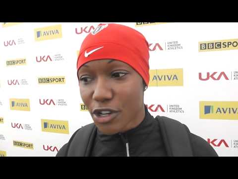 Aviva Birmingham Grand Prix   Carmelita Jeter Womens 100m