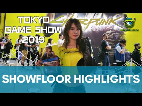 Tokyo Game Show 2019 | Showfloor Highlights