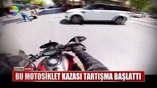 Bu motosiklet kazası tartışma başlattı