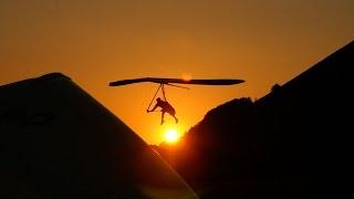 Hang gliding Toplanding compilation Monte Cucco