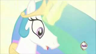 MY LEG!! (Poor Princess Celestia) =/(