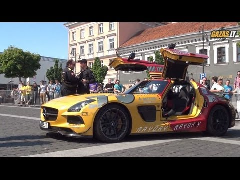 Gumball 3000 Checkpoint in Vilnius, Lithuania 2013