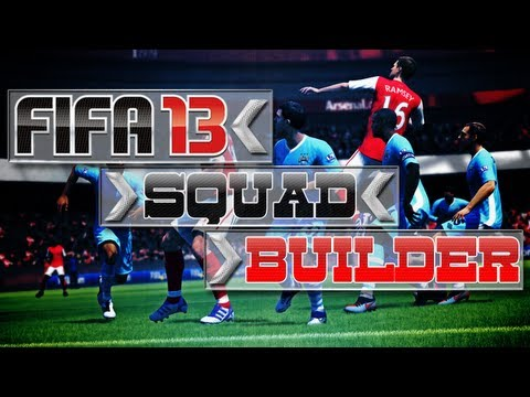 FIFA 13 Ultimate Team - Squad Builder - My