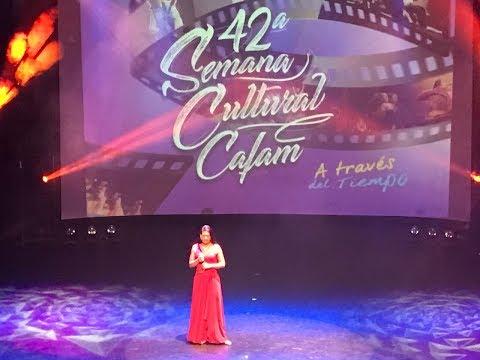 Video aficionado, presentación Solista A, Giovanna Arévalo Rivera en Semana Cultural Cafam No. 42
