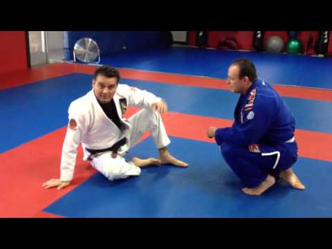 Dion Watts Baseball choke from modified butterfly guard Jiu-Jitsu Image 1
