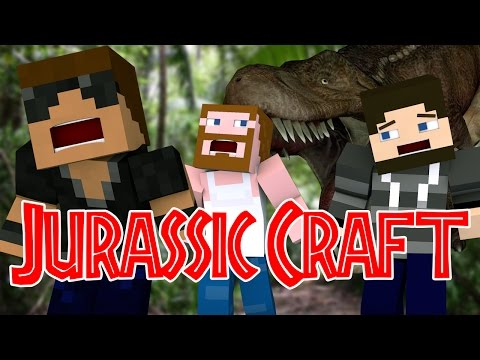 Dinosaur Attack jurassic World Ep.1 jurassic Craft Roleplay video