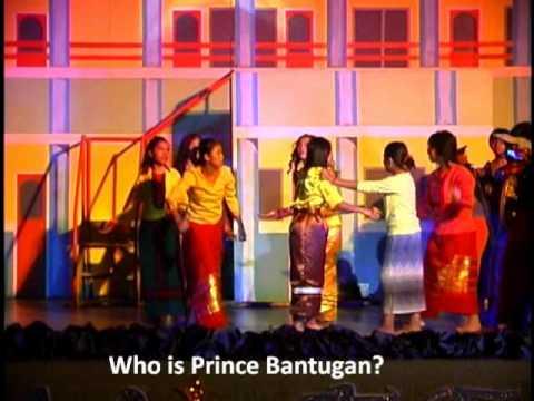 the story of prince bantugan It is a story about the great prince bantugan, the greatest warrior of the kingdom of bantugan in the play, bantugan, after courting the beautiful but evil sorceress of bambalay anonan, maginar , decides to return home to bumbaran.