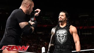 Roman Reigns & Randy Orton vs. The New Day – 2-on-3 Handicap Match: Raw, May 4, 2015