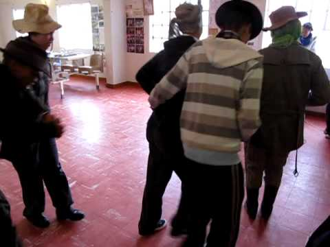 Namaqualand - Traditional dance at Garden of Hope