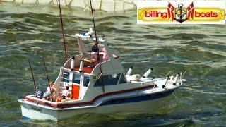 CVP - Billing Boats Blue Star RC Fishing Boat
