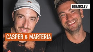 "Casper & Marteria Interview: Millionen-Deals, leere Hallen & ""1982"" (16BARS.TV)"