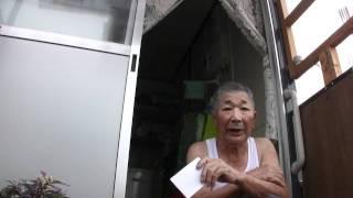 仙台長町仮設住宅、中澤松次郎さん&美佐子さん