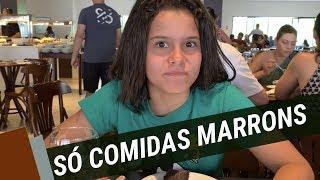O DIA INTEIRO SÓ COMENDO COMIDAS MARRONS NO TAUA - GABRIELLA SARAIVAH