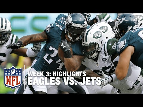 Eagles vs. Jets | Week 3 Highlights | NFL