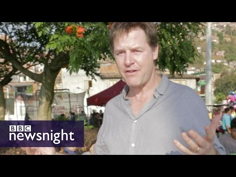Nick Clegg on Drugs Policy - BBC Newsnight