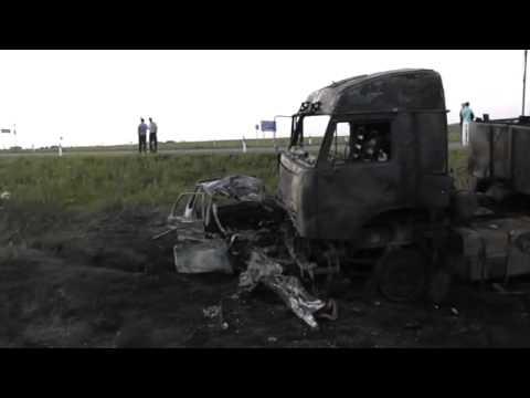 В аварии с КАМАЗом погибла семья из четырех человек