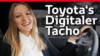 Der Digitale Tacho von Toyota   How To/Erklärung
