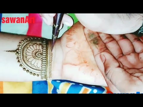 Trendy Fashion Jewellery Henna Mehndi Design   Jewelry Mehndi Design for Hands