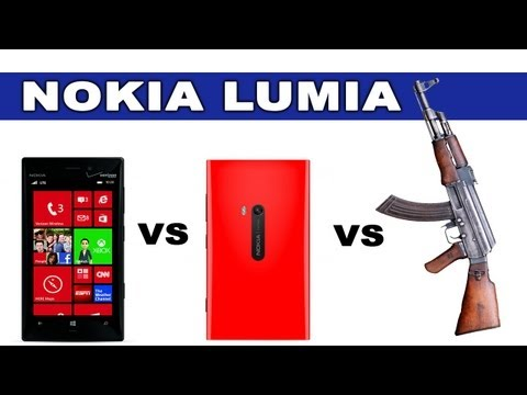 Nokia Lumia 928 vs 920 vs AK47 - Tech Assassin - RatedRR Video Download