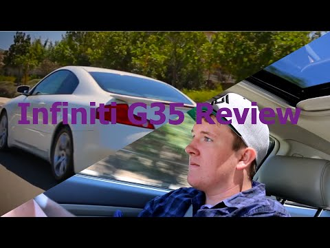 Infiniti G35 Sport Coupe Review (With 108Vlogs !)