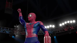 WWE 2K15 Spider-Man CAW! (PS4)