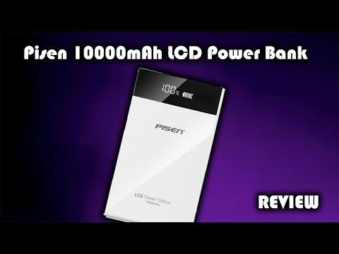Pisen 10000mAh LCD Power Bank Review