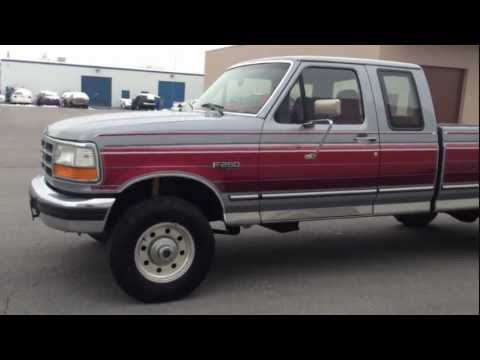 1995 FORD F250 SUPERCAB 4X4 **LOW MILES** 5 SPEED 104K 7.3 POWERSTROKE TURBO DIESEL