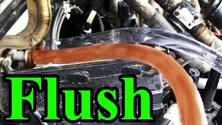 How to Flush a Heater Core Safely (with a garden hose)