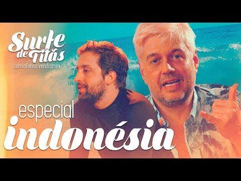 SURFE DE TITÃS - ESPECIAL INDONÉSIA Vídeos de zueiras e brincadeiras: zuera, video clips, brincadeiras, pegadinhas, lançamentos, vídeos, sustos