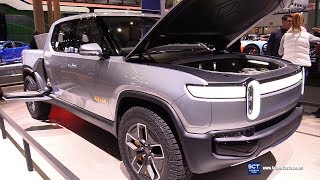 Rivian R1T Electric Truck - Exterior and  Interior Walkaround - Debut 2018 LA Auto Show