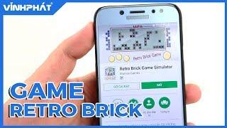 Trải nghiệm game xếp hình thập niên 90 trên Android và iOS