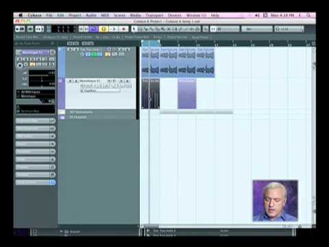Cubase 6-Intermediate Level: Extracting MIDI