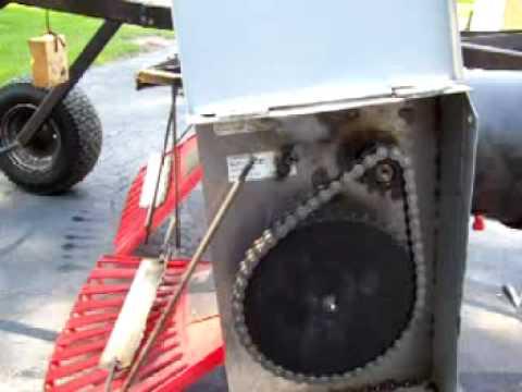 Home Made Power Rake Youtube