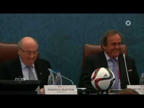FIFA: Blatter und Platini suspendiert