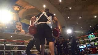 Ryan Martin and Diego De La Hoya Media workouts