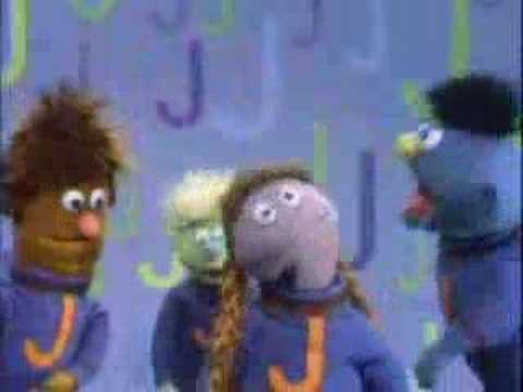 Sesame Street - Let's sing a song About J