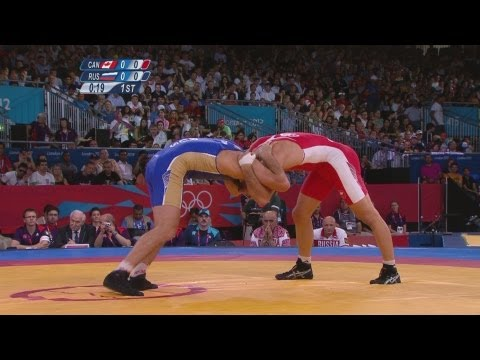 Wrestling Men's Freestyle 74 kg Bronze Medal - CAN v RUS Full Replay - London 2012 Olympics