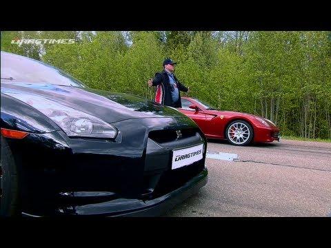 Ferrari 599 Fiorano vs Nissan GT-R. Ferrari 458 Italia. Porsche 911 Turbo. BMW M3