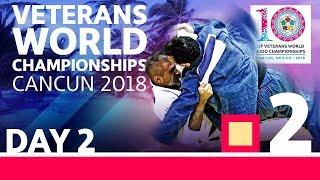 Veterans World Championships 2018: Day 2 - Day 2: Tatami 2
