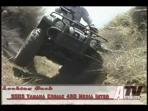2003 Yamaha Kodiak New Model Introduction - ATVTV Test Video Series