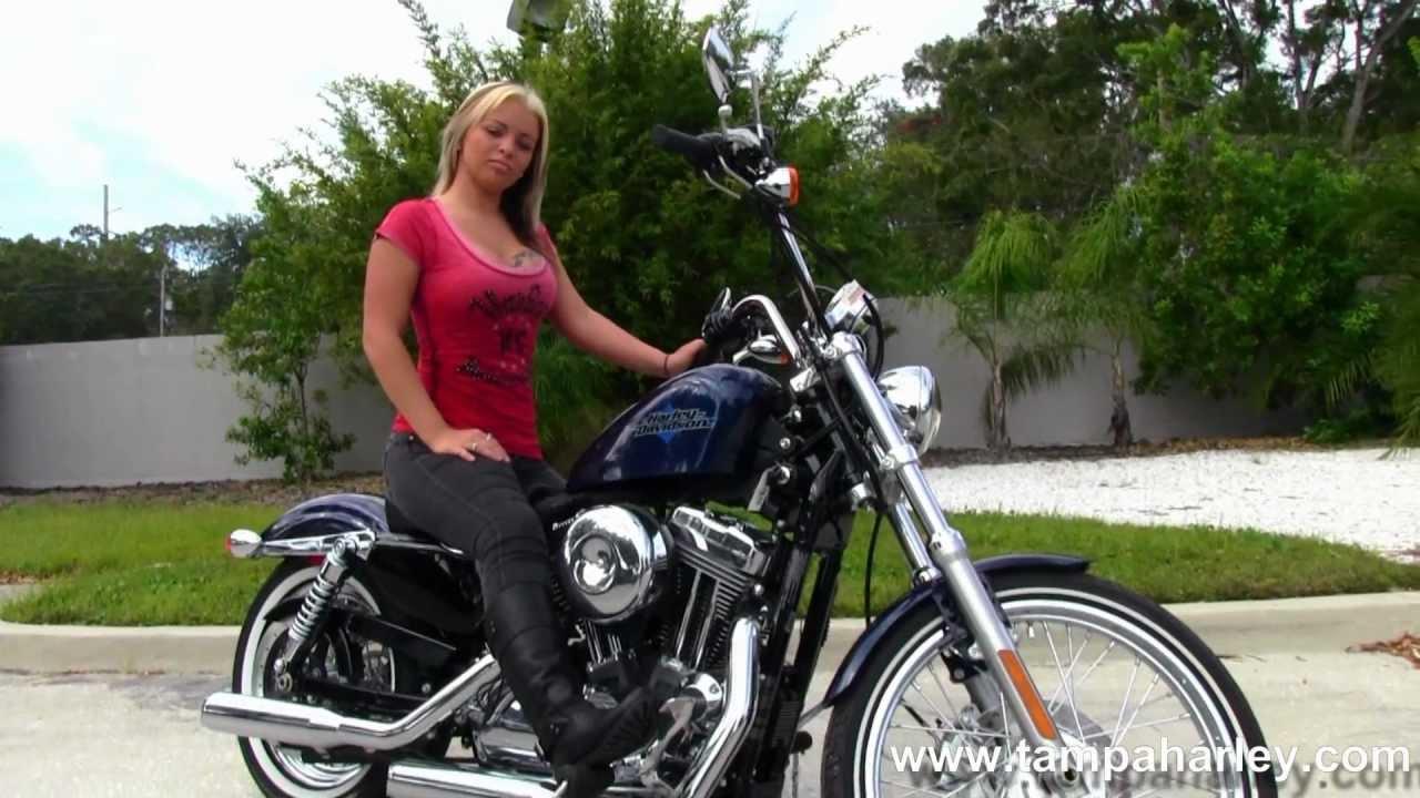 New 2012 Harley Davidson Sportster Seventy Two XL1200V
