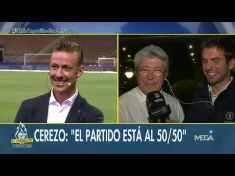 """Enrique Cerezo, en directo en El Chiringuito: """"Veo la final al 50%"""""""