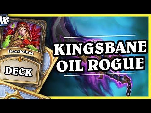 KINGSBANE OIL ROGUE - Hearthstone Deck Wild (K&C)