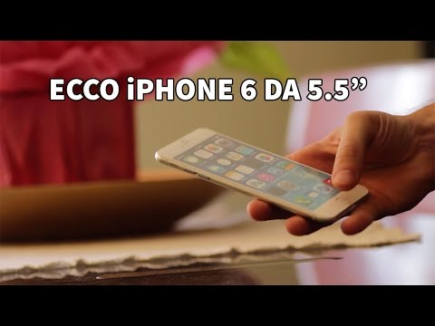 Ecco l'iPhone 6 da 5.5 pollici - Mockup Hands On