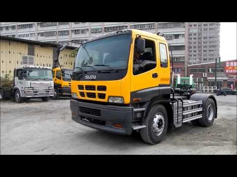 [337-HJ]  USED ISUZU TRUCK HEAD  YEAR: 2003  Engine: 6WG1  ( ISUZU 水泥車)