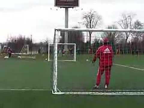 Luis Suarez & Klaas-Jan Huntelaar having fun at training Ajax