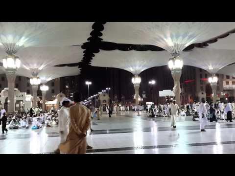 03.04.2014 - Azan Subuh di Masjid Nabawi Madinah