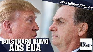 URGENTE: Presidente Bolsonaro transmite cargo para General Mourão e embarca - encontro com Trump
