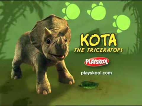Triceratops Kota toys the