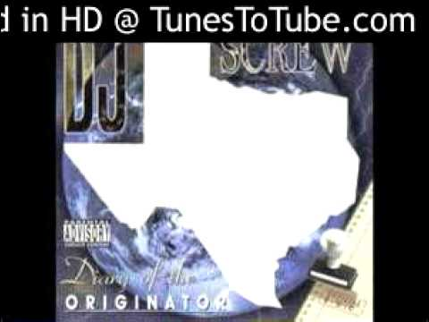 Dj Screw- I Wanna Be Free[instrumental] video